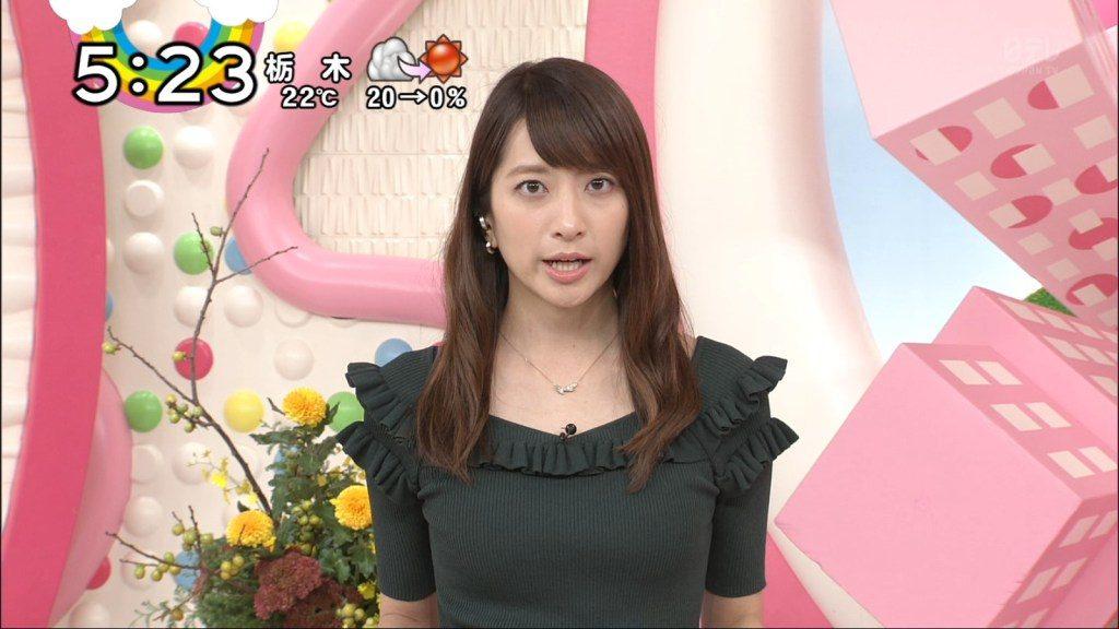 笹崎里菜アナの胸のサイズ