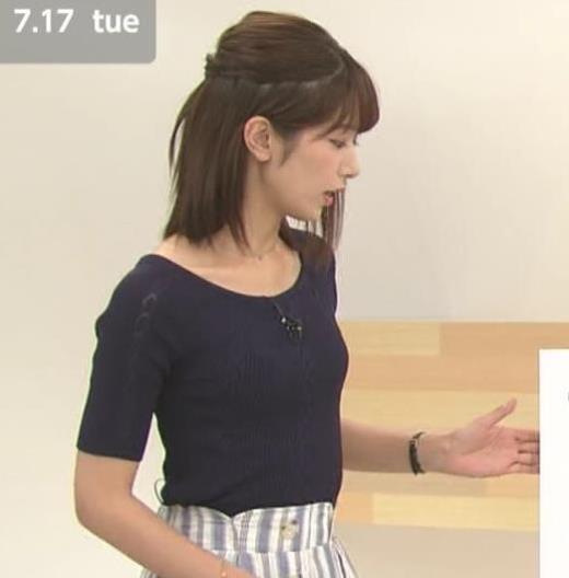 海老原優香アナの胸のカップサイズ