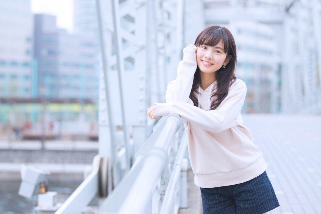 笑顔の河出奈都美アナ