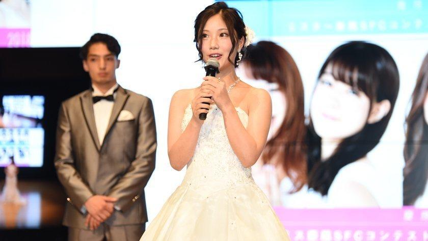 野村彩也子アナがミス慶應SFCコンテスト2018でグランプリ